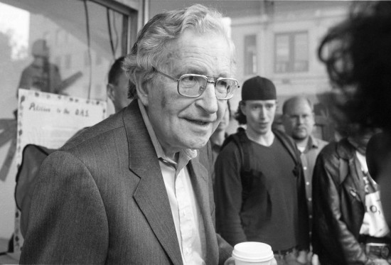 NOAM CHOMSKYS WINDSOR VISIT COINCIDES WITH OAS MEETINGS